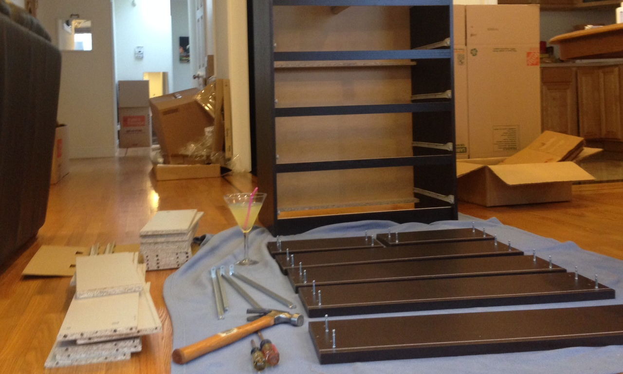 The 7 Emotional Stages Of Ikea Furniture Assembly Wes